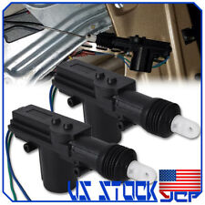 2x Universal 2 Wires 12V Car Auto Motor Heavy Duty Power Door Lock Actuator