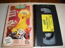Sesame Street - Sing, Hoot  Howl (VHS, 1991)