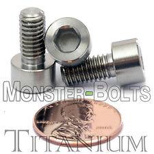 6mm x 1.0 x 12mm - TITANIUM SOCKET HEAD CAP Screw - DIN 912 Grade 5 Ti M6 Hex
