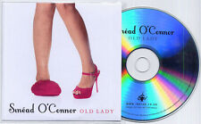 SINEAD O'CONNOR Old Lady 2013 UK 1-track promo test CD pvc wallet
