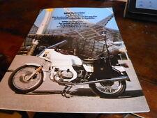 NOS NEW BMW Vintage Brochure R100 Patrol Police + Folder