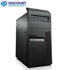 Fast Lenovo Desktop Computer Windows 10 Tower Pc Hd Intel Core i3 Wifi 8Gb 500gb