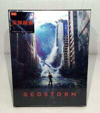 GEOSTORM [2D + 3D]  Blu-ray STEELBOOK [HDZETA] LENTICULAR A  #046/300  OOS/OOP