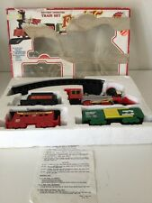 Scientific Toys Forty-Niner Western Comfort Train Set 4 Cars Clean