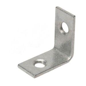 "8 X Metal Corner Braces Brackets L-Brackets 25MM/1"""