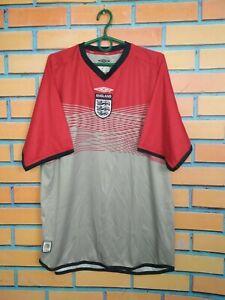 England Jersey Training LARGE Shirt Soccer Football Umbro