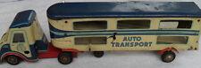 Blechspielzeug LKW Autotransporter HRZ 1954 sehr selten