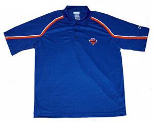 Reebok NBA Men's New York Knicks 3-Button Polo, Blue