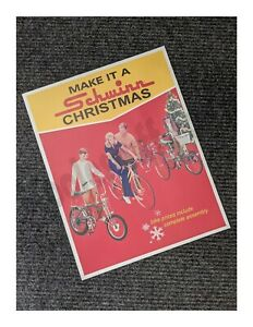 Schwinn Bicycle MAKE IT A SCHWINN CHRISTMAS Krate Poster - Pea Picker - APPROVED