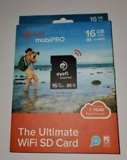 eyefi mobiPRO 16GB +WiFi SDHC The Ultimate WiFi SD Card Class 10