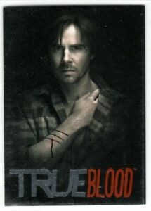 TRUE BLOOD PREMIERE BLACK AND WHITE INSERT CARD BW4 SAM MERLOTTE