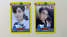 EXO The War The Power Of Music 4th Repackage Official photocard -  Suho set