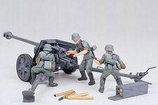 Tamiya 35047 German World War II 75mm Anti-tank Gun 1/35 Scale Plastic Model Kit