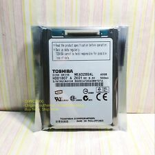 "Toshiba 60GB (MK6028GAL)1.8 ""CE hard drive for Panasonic / Sony video /camcorder"