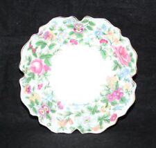 "Crown Staffordshire - Thousand Flowers - 5 1/2"" Trinket/Pin Dish - VGC"