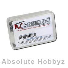RC Screwz Mugen MBX 7R Nitro Stainless Steel Screw Kit - RCZMUG030