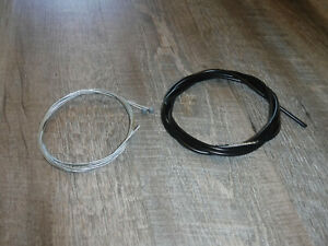 6 Feet New Jagwire CGX-SL 5mm Bicycle Brake Housing & 2 New Jagwire Brake Cables