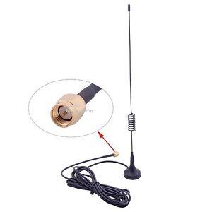 Antenne 868 MHz für z.B. LOXONE & Alarmanlagen  3M Kabel SMA NEU