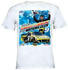 2012 Marcos Ambrose Finger Lakes 355 at the Glen Race Win White T-Shirt