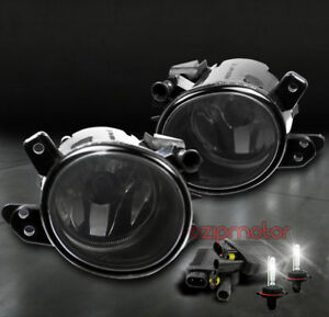 06-11 MERCEDES-BENZ W164 ML-CLASS BUMPER DRIVING CHROME FOG LIGHTS+6000K HID KIT