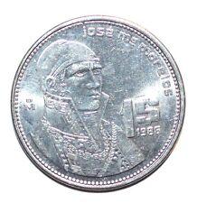 1986 $1 PESO un MEXICO world foreign snake coin UNCIRCULATED