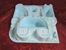 LEGO 3D Platte Belville Winterpalast Kristallpalast 7577 5850 weiß blau 32214pb0