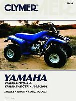 Yamaha YFM80 Moto-4 Badger & Raptor 85-08 Workshop Manual