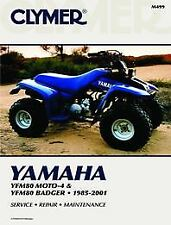 Yamaha YFM80 Moto-4 Badger & Raptor 85-08 Workshop Manual