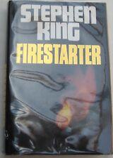 STEPHEN KING - FIRESTARTER - 1st UK H/C EDITION -MACDONALD-1980