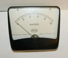 Vintage Bakelite Pace Electrical Instruments Amperes Meter Direct Current