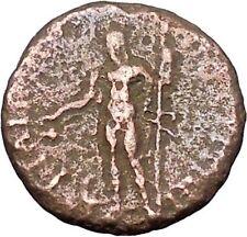 Antoninus Pius Marcus Aurelius Father Ancient Roman Coin Dionysus Wine    i47765