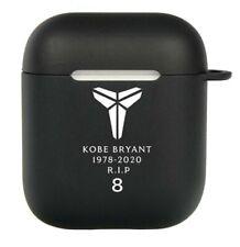 Kobe Bryant Lakers Silicone Apple AirPod Case Gen 1&2 w/Clip .