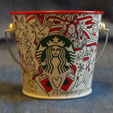 F/S Starbucks JAPAN 2017 Holiday can mini bucket pot bowl case interior goods