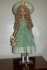 """Ellowyne Wilde Lizette Pru Amber """"Welcome Spring"""" outfit romantic green fabric"""