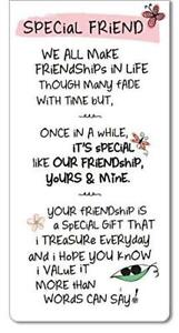 Inspired Words Magnetic Bookmark - Special Friend