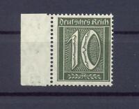 DR 159 b Freimarke 10 Pfg. schwarzoliv postfrisch geprüft (dt115)