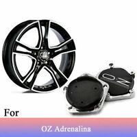 4x 66mm OZ Racing Wheel Centre Caps Hub Cover Carbon M643 for Michelangelo-1// 5H