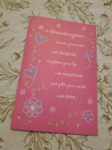 American Greetings Granddaughter Birthday Card