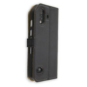 Smartphone Case for Cat S61 Bookstyle-Case Protective Cover in black