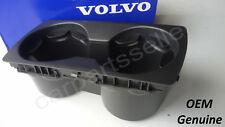 Volvo S40 V50 C30 Cup Holder Front Center Console Black 30766365 Genuine