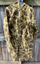 Vintage WWII Camo Smock Cover with Hood