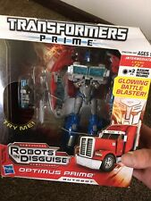 Transformers Prime OPTIMUS PRIME Voyager Class Series 1  SEALED! NIP 2001