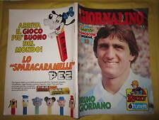 IL GIORNALINO NUMERO 2 ANNO LVI GENNAIO 1980 BRUNO GIORDANO PRESENTE INSERTO