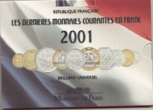 France coffret BU 2001