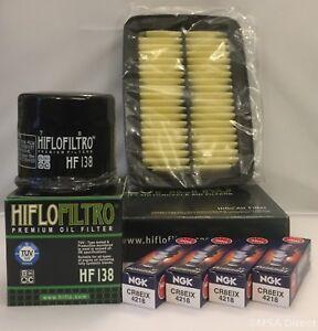 Service Kit - Filters and NGK Iridium Plugs fits Suzuki GSF1250 Bandit / GSX1250