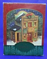 Authentic Christmas Valley 1995 THE RAILWAY Seasonal Specialties Company
