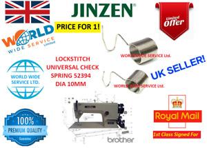 LOCK STITCH UNIVERSAL CHECK SPRING 52394 DIA10MM INDUSTRIAL SEWING MACHINE PART