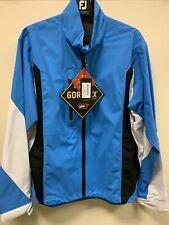 GALVIN GREEN ARON PACLITE GORE-TEX WATERPROOF GOLF JACKET - BLUE - SIZE LARGE