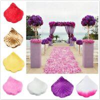 1000 Soie Rose Pétale de Fleur Confettis Fiançailles Mariage Cadeau Fête Décor