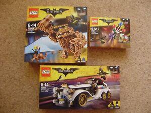 Lego The Batman Movie 70911 Penguin Arctic Roller 70904 Clayface & 70900 Joker.